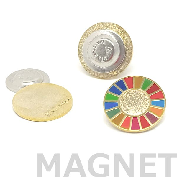 SDGsピンバッジ正規品【joinsdgs】マグネット式