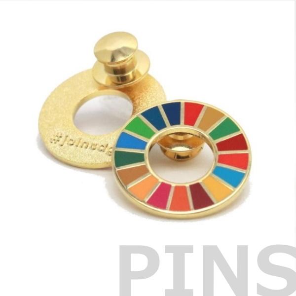 SDGsピンバッジ正規品【joinsdgs】ピン